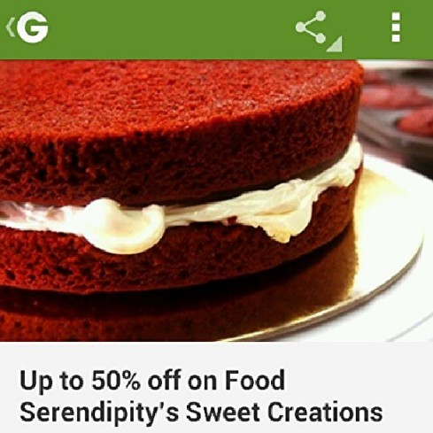 Food Serendipity on Groupon